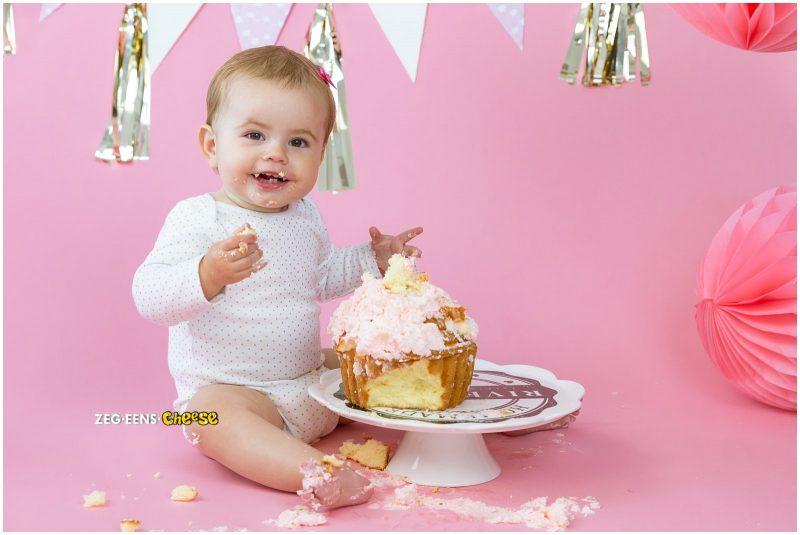 Cakesmash roze en goud (7)