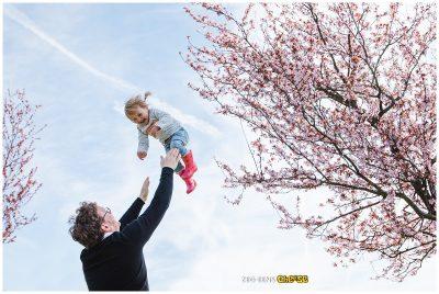 Kinderfotoshoot Rotterdam buiten Lente