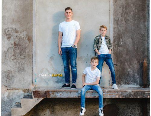 Kinderfotoshoot broers Rotterdam | Industrie fotoshoot