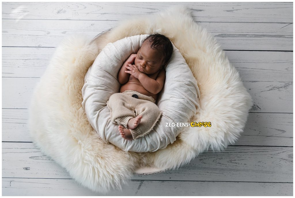 Newborn fotoshoot Josef  fotostudio Rotterdam