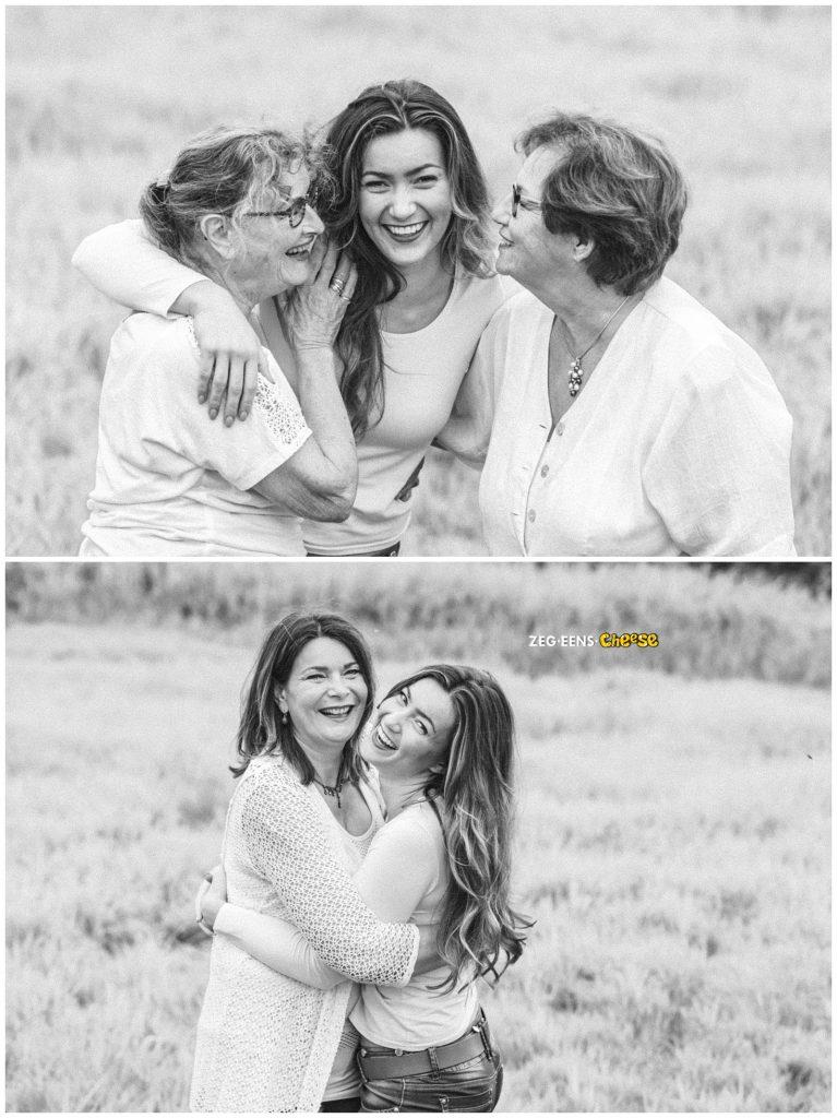 familie fotoshoot kleinkind met oma